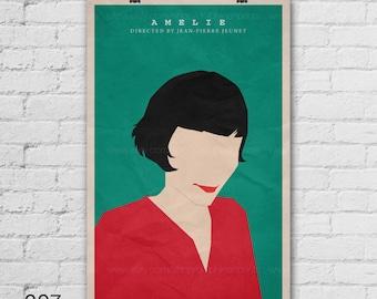 Amelie Art Print. Movie Art Print. Pop Culture and Modern Wall Decor, 11x17, 13x19, 16x20, 18x24, A1 Size. Select a size. Item no. 007