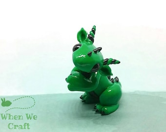Gregory the Green and Black Dragon