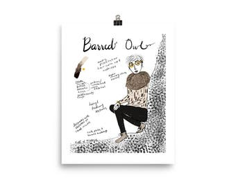 Barred Owl Inspired Fashion Style