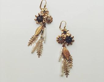 Evelyne earrings, #1726