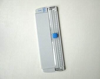 paper trimmer,12 inch, Carl RBT 12, scrapbooking, card making, paper cutter, journal making