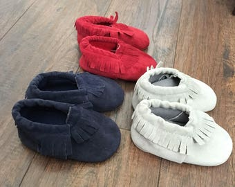 baby booties, baby moccasins, baby shoes, baby girl moccasins, baby boy moccasins