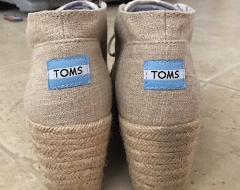 toms booties size us 7