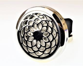 Sunflower Aromatherapy Car Air Freshener Essential Oil Car Vent Diffuser With Vent Clip