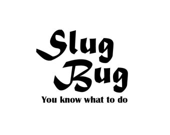 Slug Bug decal