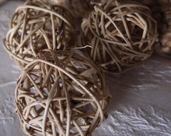 Twig Balls 2 inch - 14 balls  - Grapevine Balls