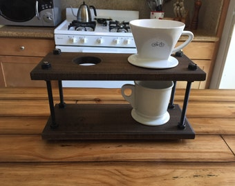 Pour Over Coffee Dripper Stand (Industrial)