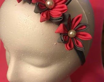 Customization Kanzashi Flower Headband
