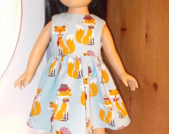 Americangirl dress, doll 18 inches