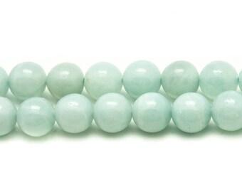 2PC - stone beads - Amazonite balls 12mm - 4558550081940