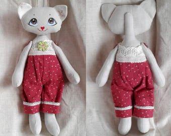 5 Handmade toy Cat