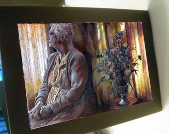greeting card print of original art - Remanisence Grandma