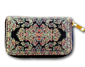 Small black wallet, Mini black wallet, Small pouch, Mini purse, Small wallet, Small purse, Coin purse, Little zipper pouch, Mini wallet,