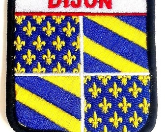Dijon Embroidered Patch