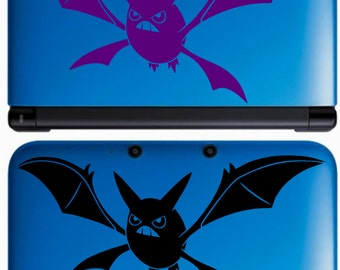 Crobat Pokemon Decal for 3DS and More