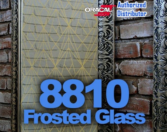 "12"" x 24"" Oracal Frosted Glass Vinyl, Cricut Vinyl, Craft Vinyl, Frosted Glass, Glass Decoration"