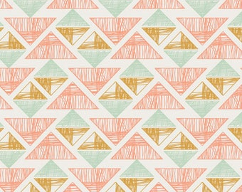 Crystal Arrowheads Desert Crystal - Arizona by April Rhodes, Art Gallery Fabric Quilting Cotton 1/2 Yard+