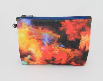 Abstract Print Cosmetic Bag Makeup pouch Travel bag Accessory bag Zipper pouch Storage bag Makeup bag Pencil Case Toiletry bag