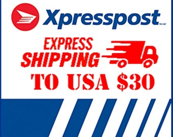 EXPRESS Shipping to USA in 4 business days - Add Express Shipping - Shipped with Canada Post Xpresspost (tm)