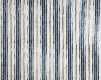 Brunswick Denim, Magnolia Home Fashions - Cotton Upholstery Fabric By The Yard
