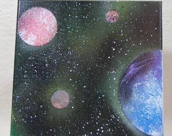 Los cuatro planetas