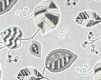 LaLa Metal, Magnolia Home Fashions - Cotton Upholstery Fabric By The Yard