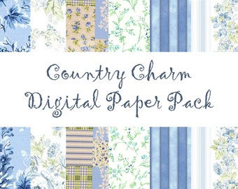 Country Charm Mini Paper Pack