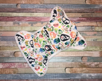 Be A Vegan Poly PUL Cloth Diaper Cover With Aplix Hook&Loop Or Snaps You Pick Size XS/Newborn, Small, Medium, Large, or One Size