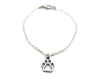 Dog Paw Bracelet Paw Print Bracelet Pet Lover Bracelet Dog Paw Jewelry Paw Print Jewelry Paw Jewelry Pet Parent Gifts