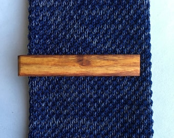 Canary Wood Tie Clip - wooden tie clip - tie clip - Anniversary gift - wedding accessories - grooms fashion