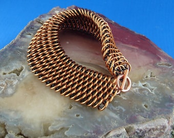Jewelry Bracelet Dragonscale  Chain Maille