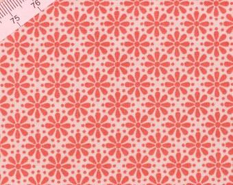FREE SHIPPING Tilda Little Flower Orange Fabric / Wintergarden Collection - Full Metre / 1.09 yard