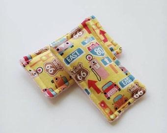 Reusable sponge,unsponges, travel, route 66, ecofriendly sponge, kitchen sponge
