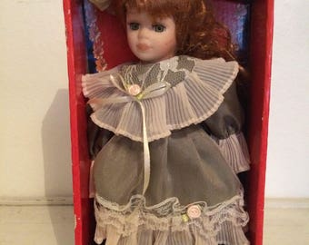 Young Ladies of Affluence china doll in its original box