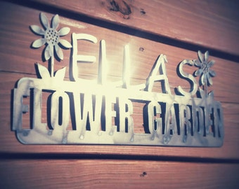 Personalized Garden Sign Great for Grandparents and Parents