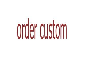 100 BAGS / order custom in morocco