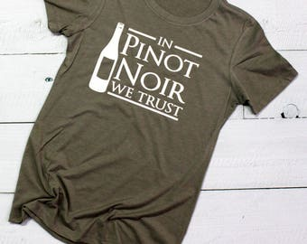 In Pinot Noir We Trust -  Women's Triblend Crewneck
