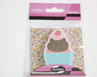 sticky notes cupcake