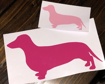 Dog Breed Silhouette Decal   Choose Your Breed of Dog   Add a Name!
