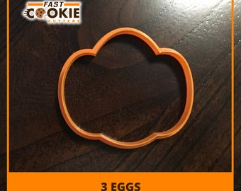 Three Eggs Cookie Cutter