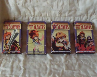 The Slayers VHS 5-8