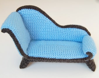 amigurumi pattern - chaise longue