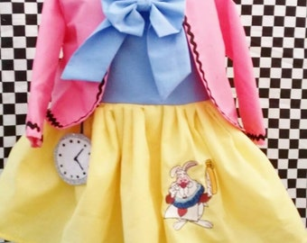 Cutest Alice in Wonderland Peter Rabbit Inspired  turnaround time August/ september