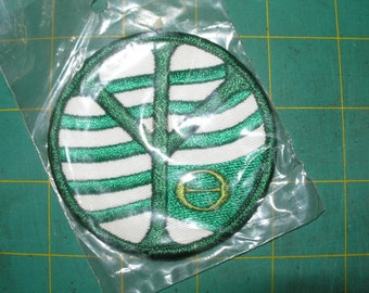 """Vintage patches from 1970's """"Eco Victory"""""""