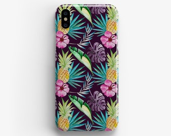 Pineapple Pattern iPhone 7 Case iPhone 6s Case iPhone 7 Plus Case iPhone 6s Plus Case iPhone 6s Case 3D Wrap