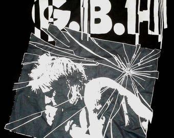 RARE VINTAGE CHARGED G.B.H gbh punk rock hardcore tour concert promo tee t shirt