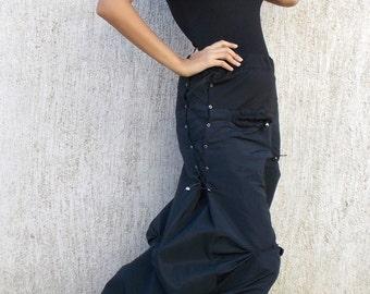 Avant Garde Extravagant Skirt / Maxi Taffeta Skirt TS01