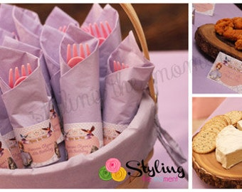 Sofia the First Napkin Rings