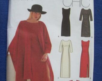 Simplicity 9324,  Ladies Dress, Ladies Wrap