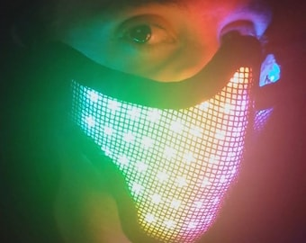 R4VE LED Mask